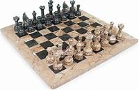 marble chess pieces Chess Set Research – Damien Burns
