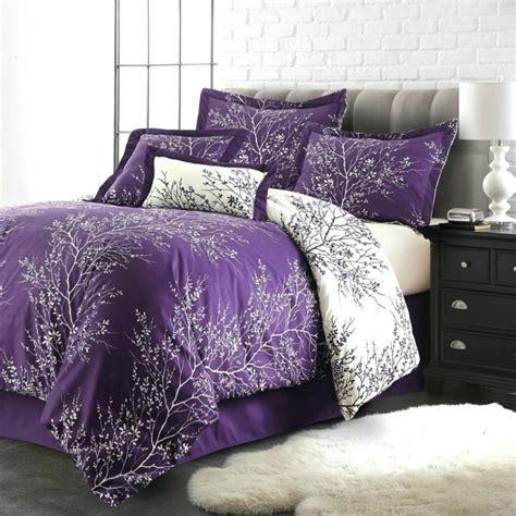 Bedroom: Bring Comfort To Your Bedroom With Cool Purple