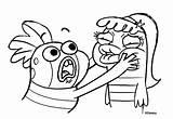 Fish Hooks Dibujos Coloring Milo Boni Pecezuelos Colorear Disney Bea Colorare Imprimir Oscar Disegni Hook Personaggi Deviantart Colorir Printable Cartone sketch template