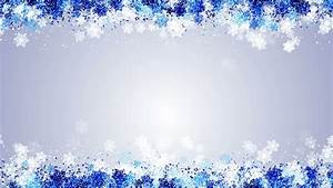 Frozen Snowflake Frame Animation -Blue Stock Footage Video ...