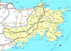 Weihai Shandong China Map