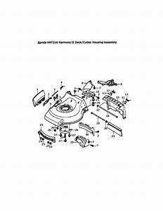Honda Hrr216vka Parts Manual