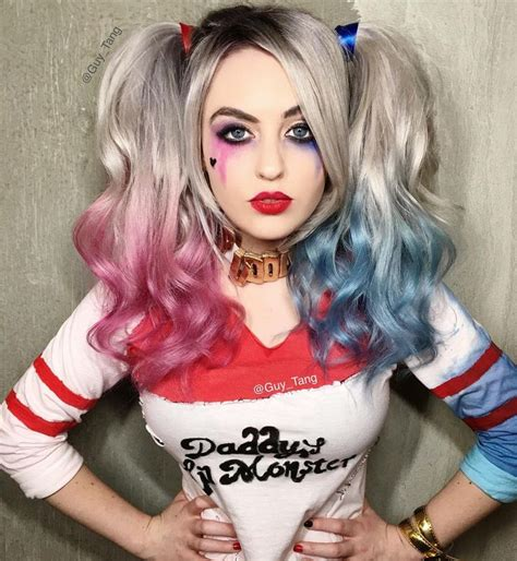 top 10 hair trends harley quinn make up and hairstyle