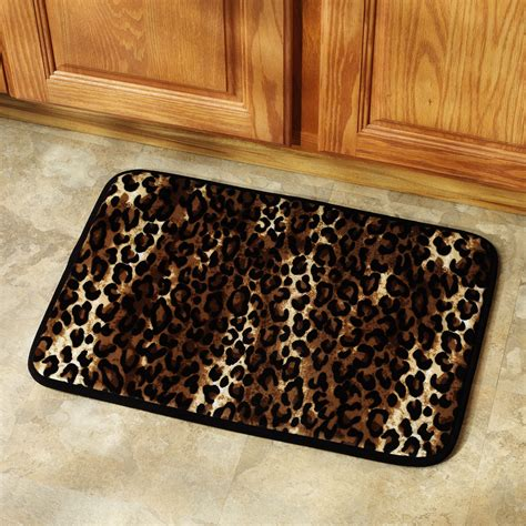 marvelous leopard print bathroom decor 10 leopard print bath mats bloggerluv