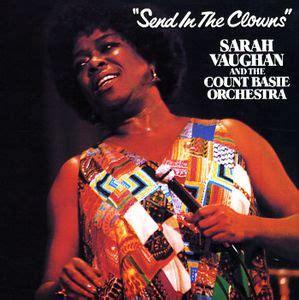 Send In The Clowns (1981 Sarah Vaughan Album) Wikipedia