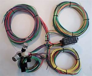 21 Circuit Ez Wiring Harness Mini Fuse Chevy Ford Hotrods