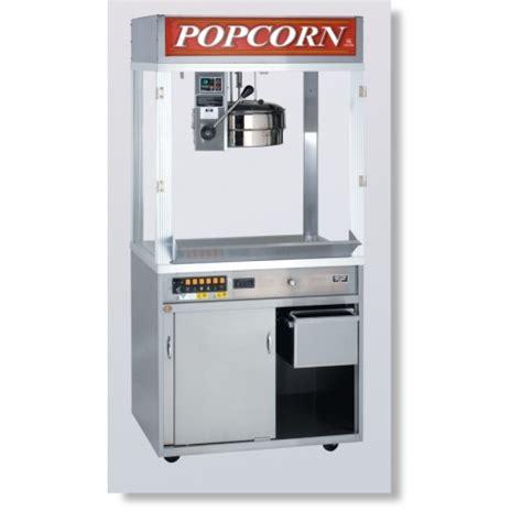 Cretors Diplomat 48 oz Popcorn Machine w/ 3 Ft Base