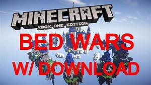 Minecraft Xbox One360 PS43 Modded Bed Wars Map W