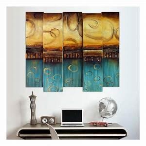 Tableau En Relief : tableau design en relief 3d 85 x 100 cm ~ Melissatoandfro.com Idées de Décoration