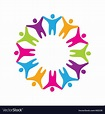 Sign friendship togetherness Vector Image by ...