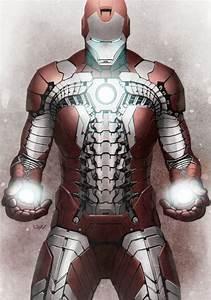 "Iron Man ""Suit-Case"" mk V Armour | marvel comics ..."