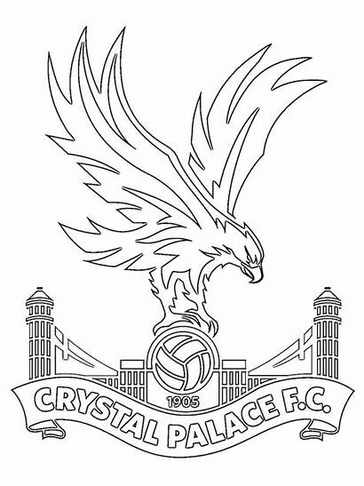 Palace Crystal Fc Colouring Pages Colour Coloring