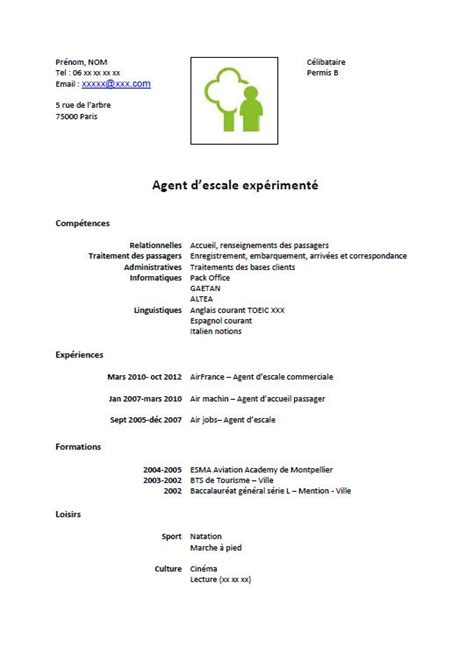 Exemple Cv Télécharger by Resume Format Exemple De Cv Gratuit D Entretien