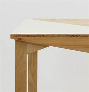 Mobilier Canadienne par le collectif nantais Fichtre Working tables, Wood tables and Tables