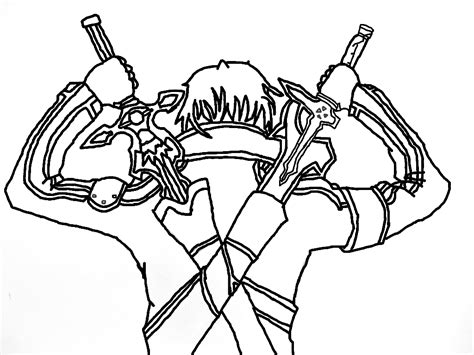 kirito sword art   rsimi  deviantart