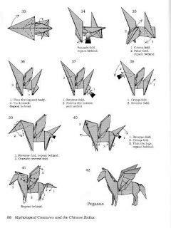 onoy origami  membuat origami pegasus origami