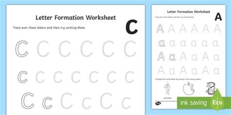 letter formation worksheet worksheets   letter