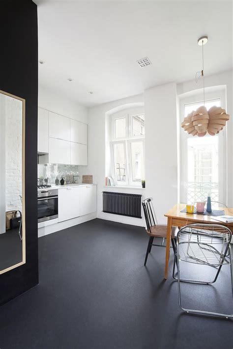 Minimal Apartment in Poland   home decor   Pinterest
