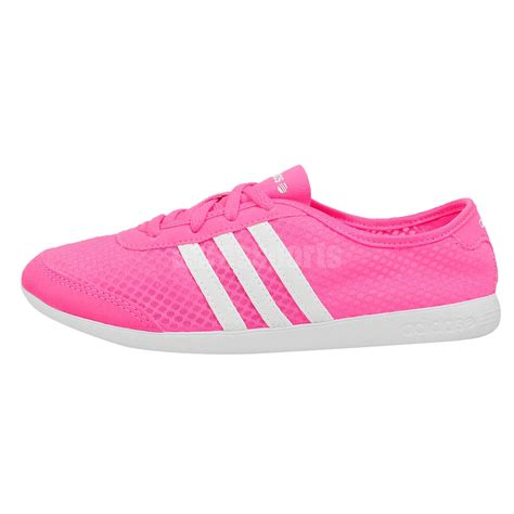 light pink adidas sneakers adidas neo label qt lite w pink white light womens casual