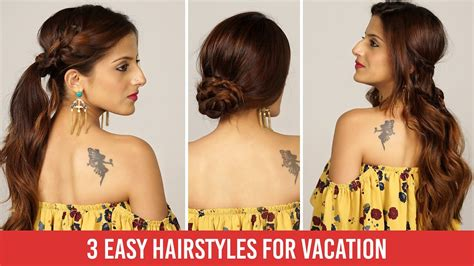 3 Quick & Easy Heatless Everyday Holiday Hairstyles ...