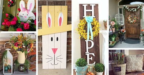 23 Best Easter Porch Decor Ideas And Designs For 2019