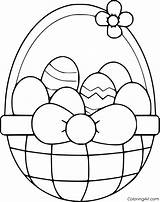Easter Coloring Basket Pages Sheets Pasen Colouring Egg Printable Kleurplaten Paashaas Printables Books Happy Mini Baskets Dental Cookies Noodle Bunny sketch template