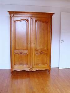 Armoire Chene Massif : armoire louis xv ch ne meubles hummel ~ Teatrodelosmanantiales.com Idées de Décoration