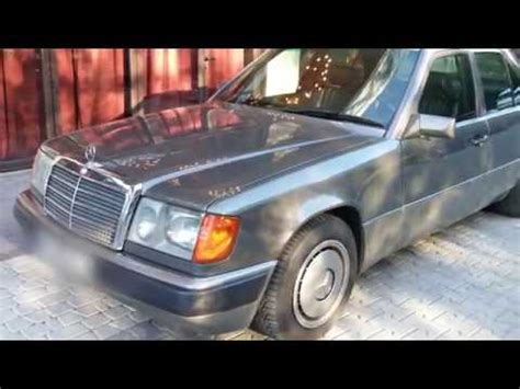 mercedes benz w124 300d ro youtube
