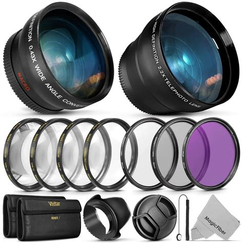 lens filter filters 55mm nikon kit camera hood dx lenses cap af sony telephoto angle dslr essential astrophotography wide cameratia