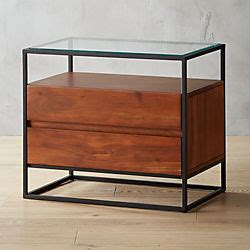 Cb2 Nightstand by Modern Nightstands And Bedside Tables Cb2