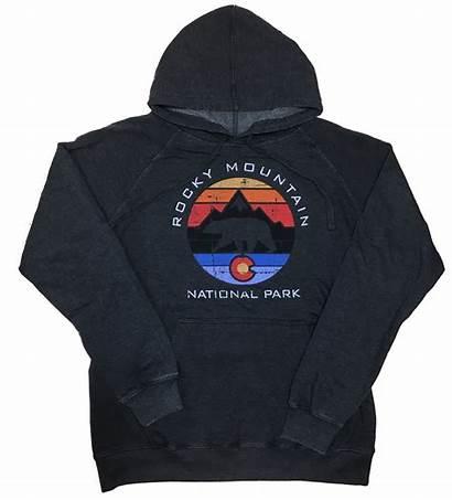 Sweatshirt Colorado Bear Hooded Rmnp Mountain Rocky