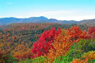 wedding venues in nc fall color in the blue ridge mountains near asheville nc