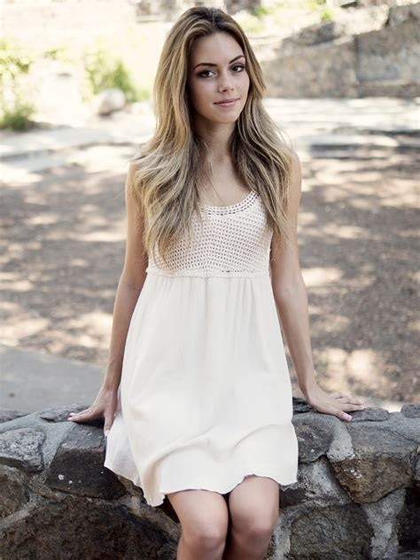 Beautiful Model And Dressed Beautiful In White Dress Image Free Stock Photo