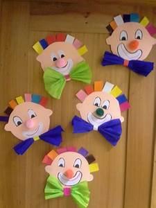 Basteln Mit Grundschulkindern : die besten 25 clown basteln ideen auf pinterest ~ Orissabook.com Haus und Dekorationen