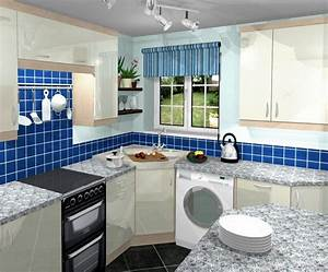 Small kitchen decorating design ideas interior home design for Interior designs of small kitchens