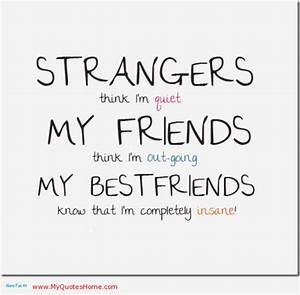 CUTE QUOTES ABOUT FRIENDS image quotes at hippoquotes.com