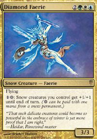 faerie deck magic the gathering faerie s printing history