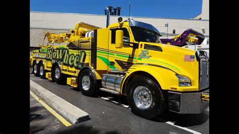 florida tow show  tow trucks mega trucks youtube