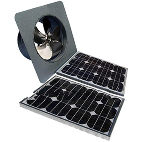 best solar gable fan solar attic fan gable mount 40w panel natural zincalume