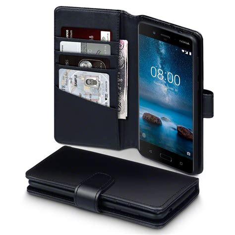 nokia 8 genuine leather wallet