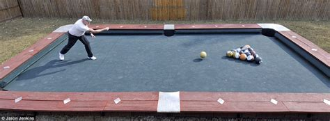 how big is a pool table big pool table is 30 and uses 6lb 8426