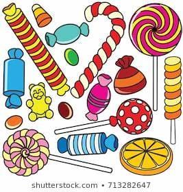 Halloween Candy Cartoon Images Stock Photos Vectors