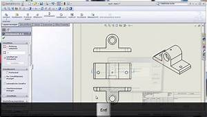 Technische Zeichnung Ansichten : erstellen von technischen zeichnungen youtube ~ Yasmunasinghe.com Haus und Dekorationen