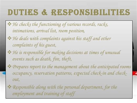 front desk security officer responsibilities job description job specification