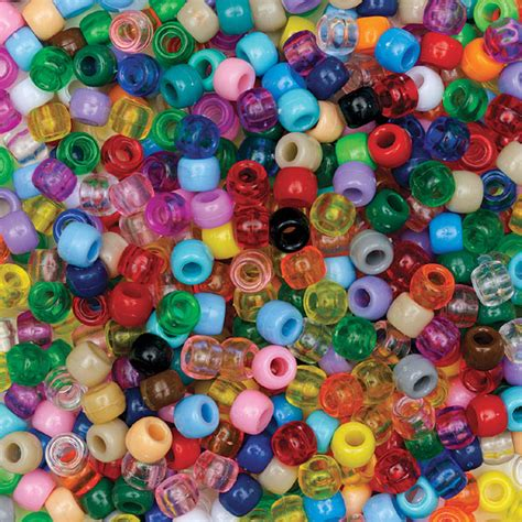 pony beads dickblick multicolor opaque transparent blick