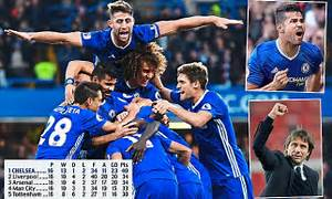 Chelsea will run through a brick wall to win title ...