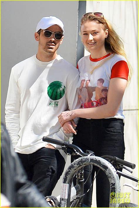 Sophie Turner Shows Off Joe Jonas' Name Written on Her ...
