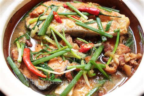 cuisine lotte recette poisson mijoté à la vietnamienne cá kho tộ la