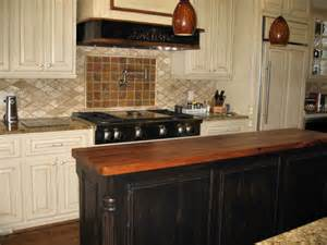 reclaimed wood kitchen islands mesquite custom wood countertops butcher block