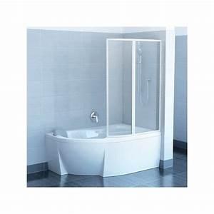 Pare Douche Pour Baignoire : pare baignoire pour baignoire d angle ~ Premium-room.com Idées de Décoration